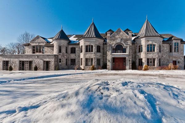 Photo diaporama les maisons les plus cheres au quebec for Achat maison montreal canada