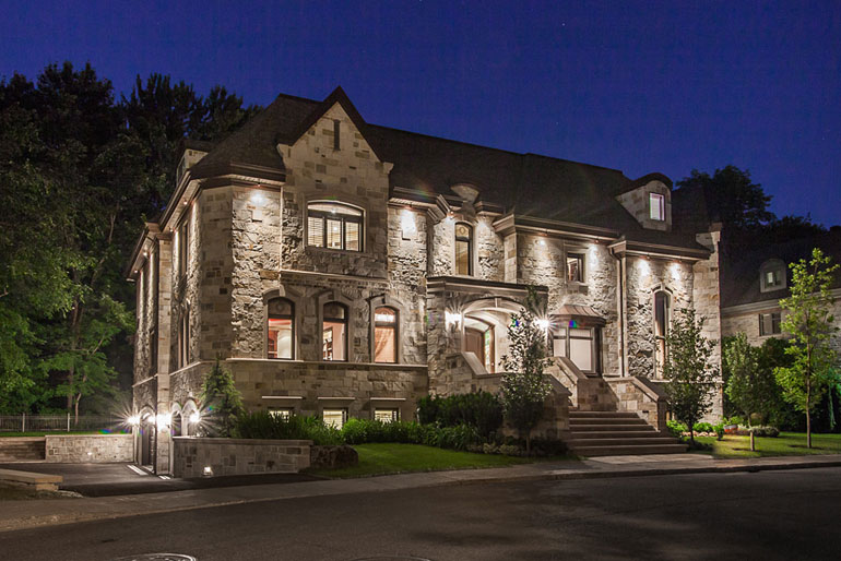 Diaporama les 10 maisons les plus ch res du qu bec - Voir la plus belle maison du monde ...