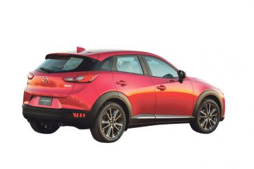 Mazda CX3:  La nouvelle vague