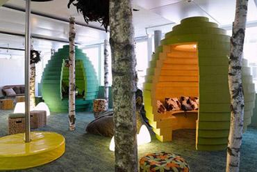 Les bureaux les plus cools du monde lesaffaires.com