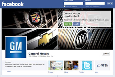 General Motors retire ses publicités de Facebook