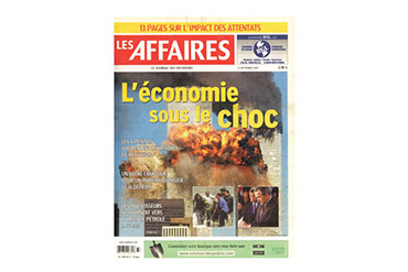 Le journal du 11 septembre 2001
