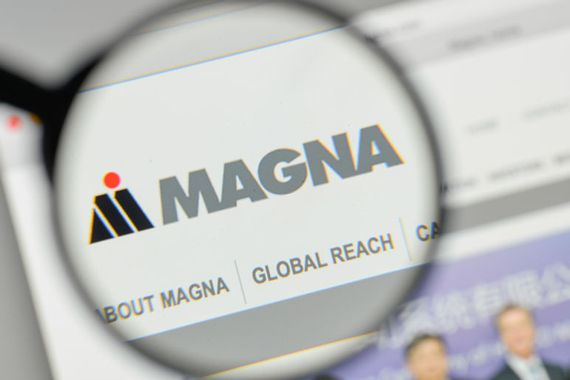 Le site web de Magna International
