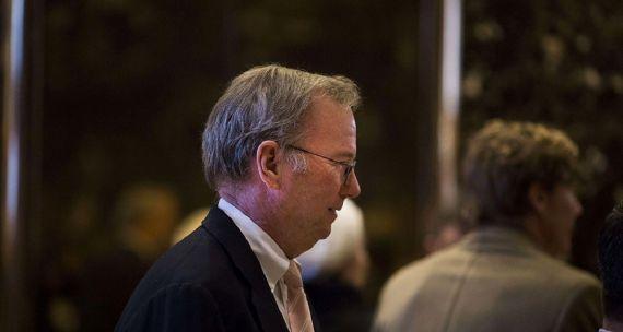 Démission d'Eric Schmidt, président d'Alphabet (Google)