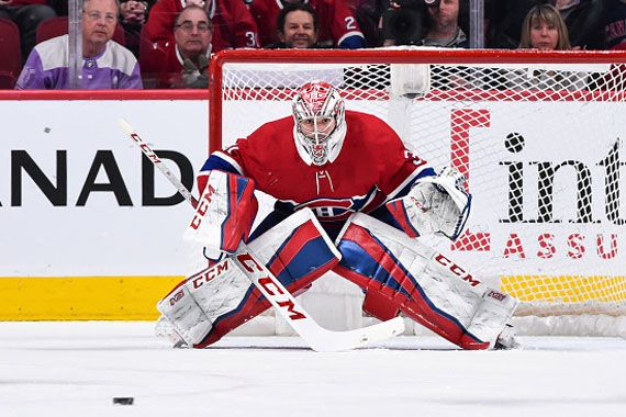Le gardien de but Carey Price.