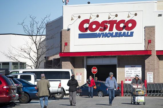 Un magasin Costco.