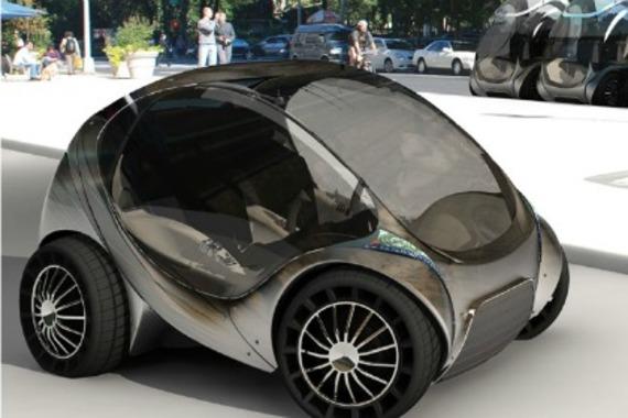 hiriko une petite voiture lectrique pliable pour des villes sans co2. Black Bedroom Furniture Sets. Home Design Ideas