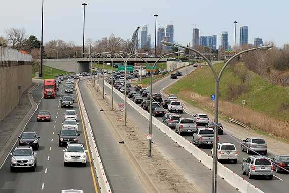 how to avoid toronto traffic