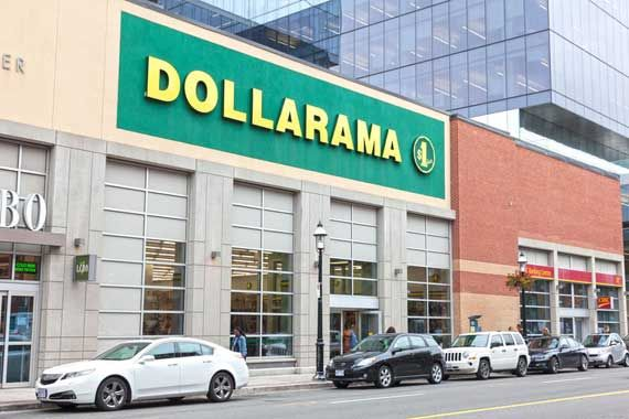 Un magasin Dollarama