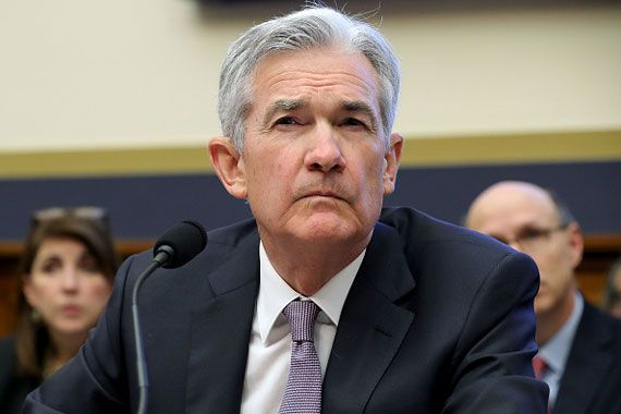 Le président de la Fed, Jerome Powell.