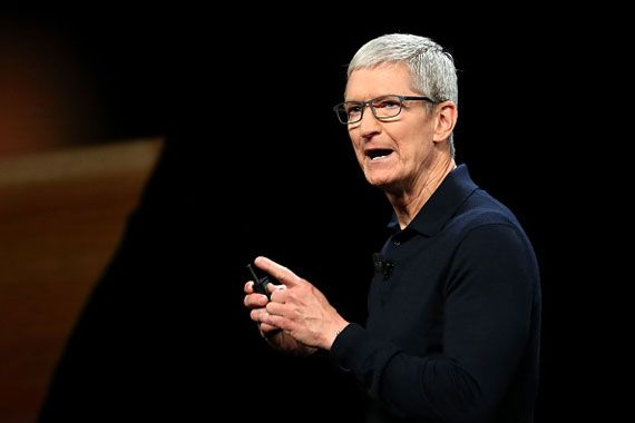 Le PDG d'Apple, Tim Cook (Photo: Getty)