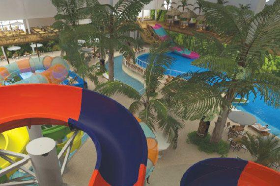 Investissement de 65m au village vacances valcartier for Parc d interieur