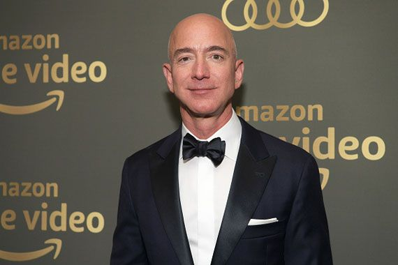 Le PDG d'Amazon, Jeff Bezos.