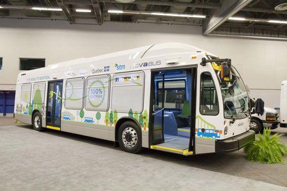 Volvo Bus Et Nova Ont Leur Carte De Visite Nord Amricaine