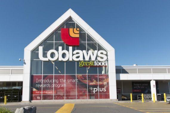 Loblaw offre une carte de 25 — Cartel du pain