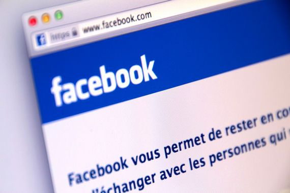 Le site web de Facebook