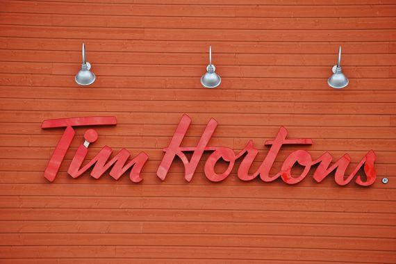 Le logo de Tim Hortons