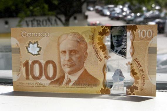 Les nouveaux billets de 50 et 100 $... fondent ...