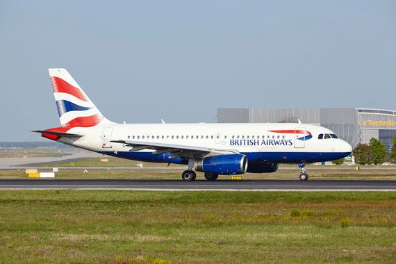 Un avion du transporteur British Airways.