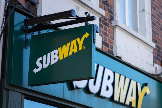 Un restaurant Subway