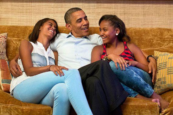 Les 3 Conseils D Obama A Ses Filles Pour Devenir Un Leader