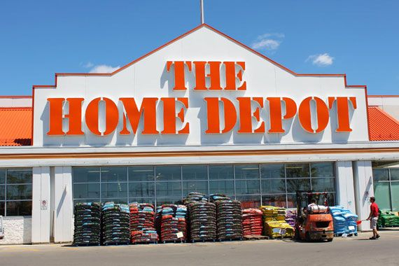 Un magasin Home Depot.