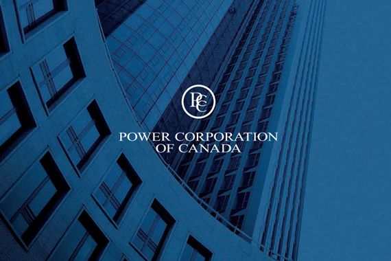 Le logo de Power Corporation.