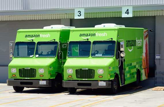 Amazon lancerait son service de livraison, UPS et FedEx baissent