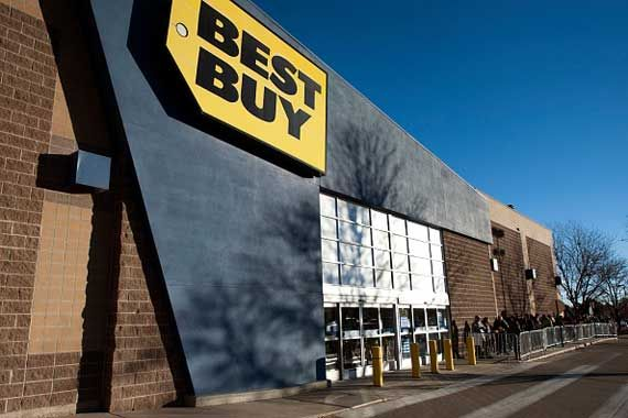 Un établissement de Best Buy.
