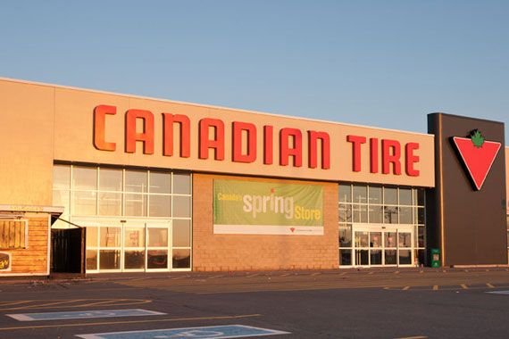 Un magasin Canadian Tire