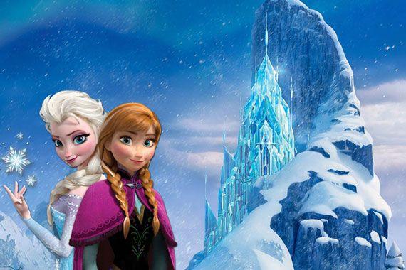 Dessin animé reine des neiges
