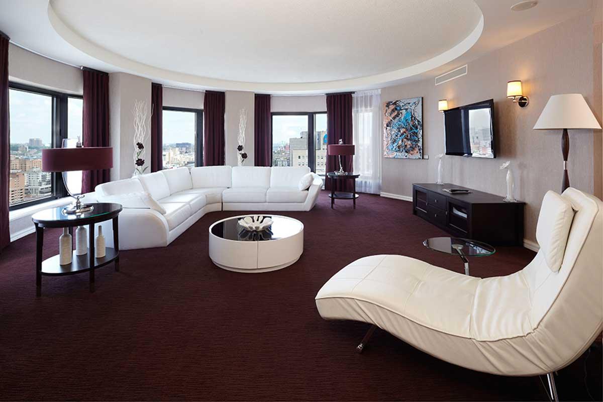Photo Chambre Hotel Luxueux : Top des suites hôtelières les plus chères de montréal